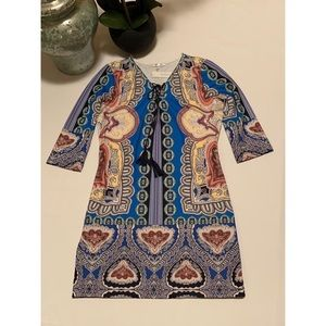 Joy &co stamp Dress size L